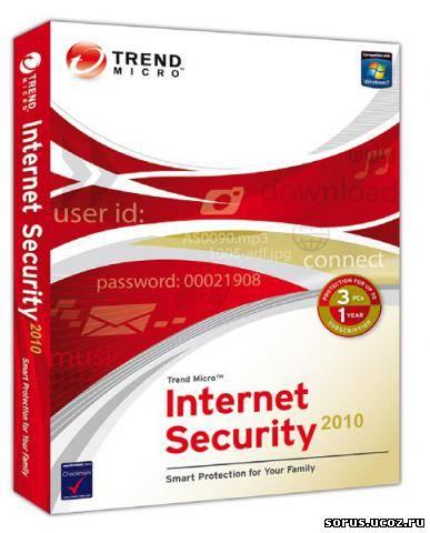 Название Программы Trend Micro Internet Security Год выхода 2010