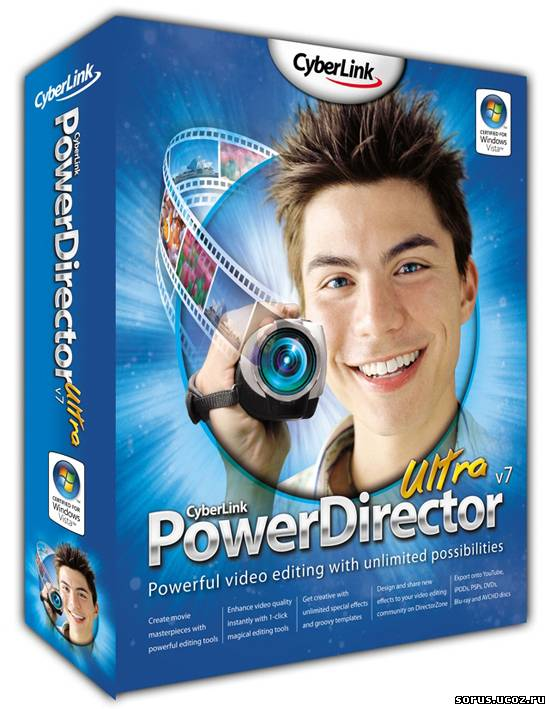 CyberLink Power Director Ultra v7.00.1628 + keygen(Jan2009).zip.