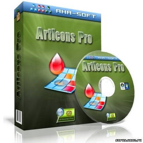ArtIcons Pro 5.40 + crack / крек ArtIcons - простая в использовании.